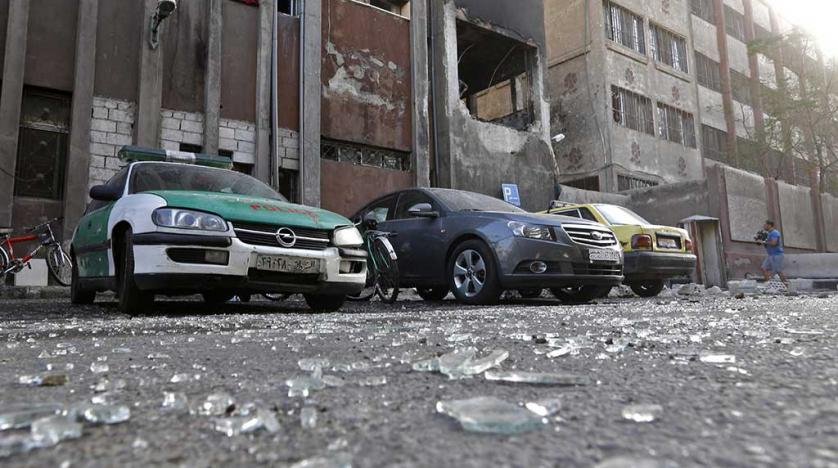 15 killed in police station blast in Syrian capital