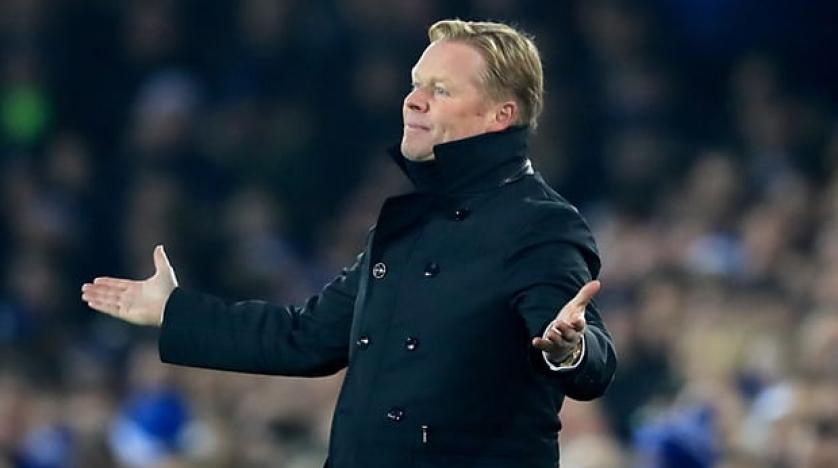 Koeman relaxed about future despite Everton struggles