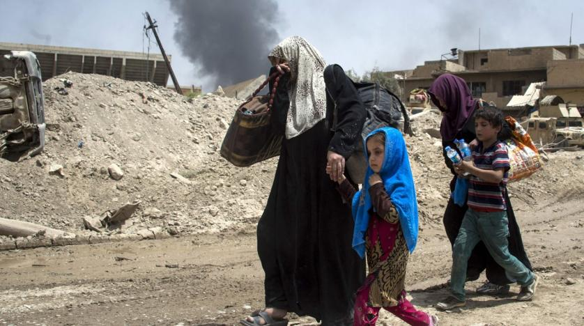IS committed 'serious' crimes amid Mosul campaign
