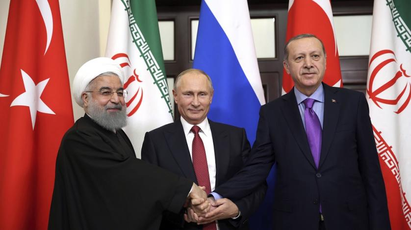 Putin, Erdogan and Rouhani meet in Sochi