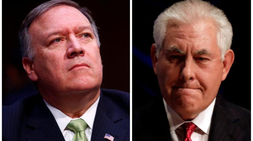 Trump plans to replace Tillerson with Pompeo