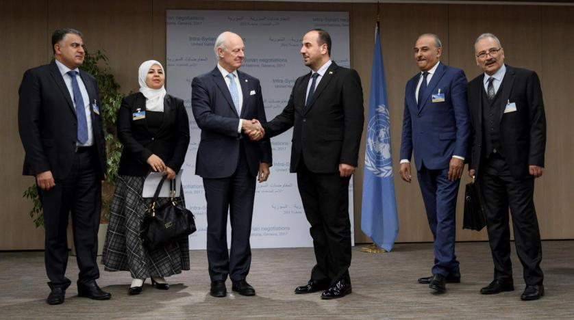 Syria Gov't Delegation Stays Away From Geneva Peace Talks