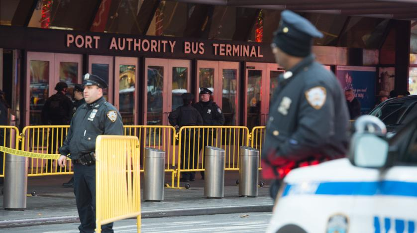'Bomb' explodes at Manhattan subway platform