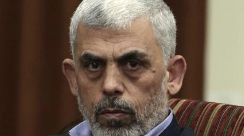 The head of Hamas in the Gaza Strip Yehya Sinwar