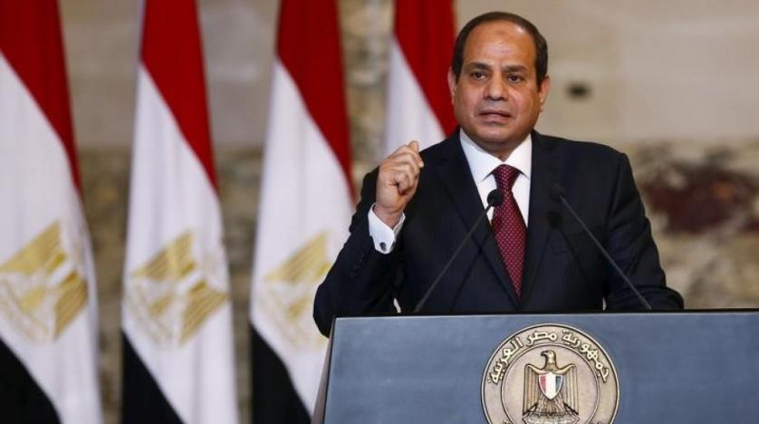 Sisi Stresses Armed Forces' Battle against Terrorism