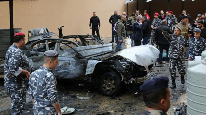 Hamas official wounded in car bomb attack in Lebanon