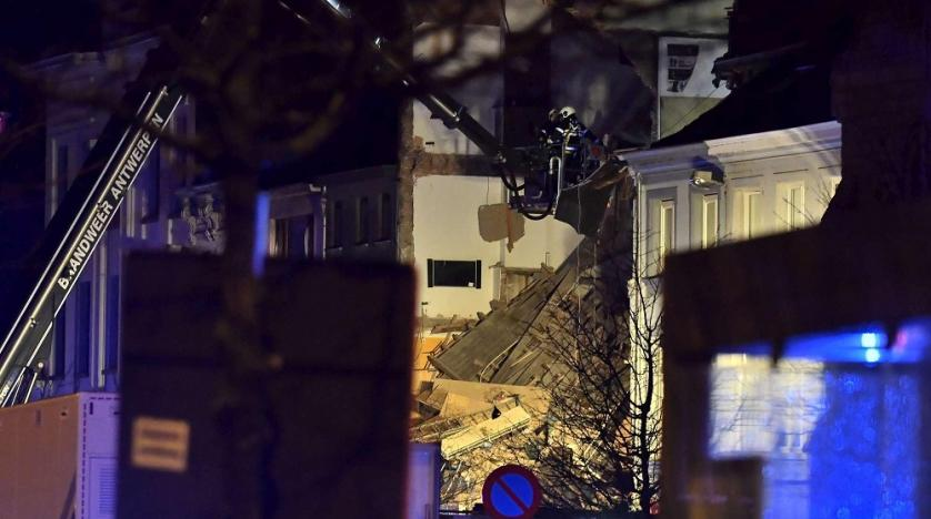 Two bodies recovered from collapsed building in Belgium