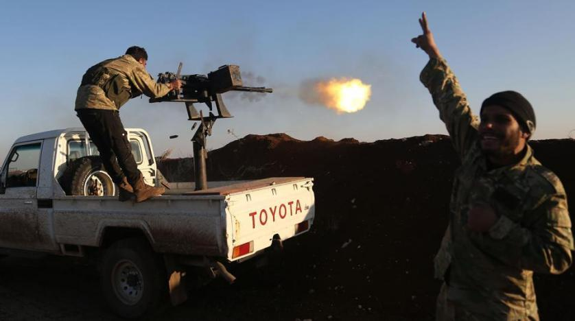 Turkey deploys thousands of FSA rebels at Syria border
