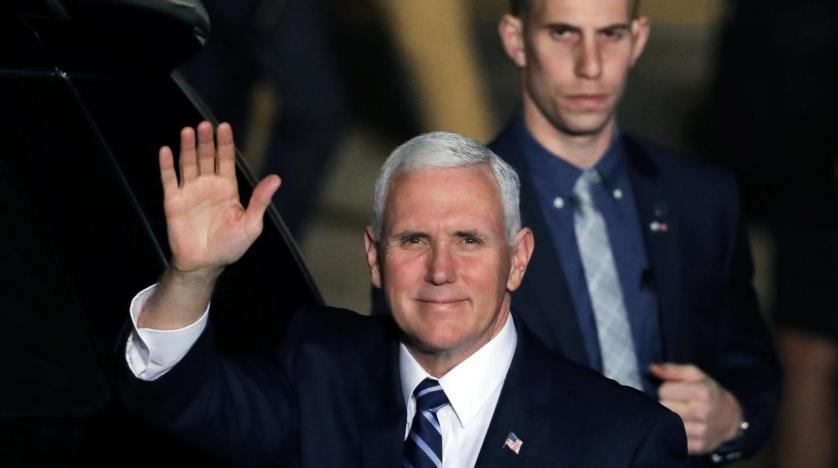 Mike Pence heckled in Israeli parliament