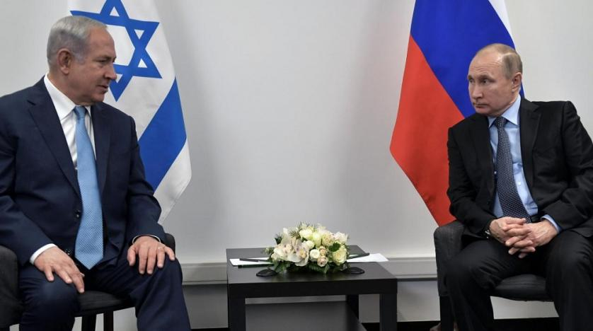 Putin, Netanyahu discuss Middle East