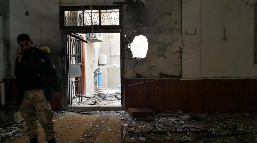 Twin bomb blasts hit Benghazi mosque
