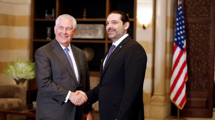 Tillerson kept waiting at Lebanese palace
