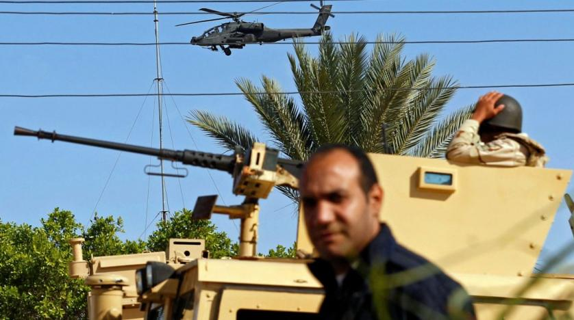 Israel hints that Sinai fighting caused cellular disruption
