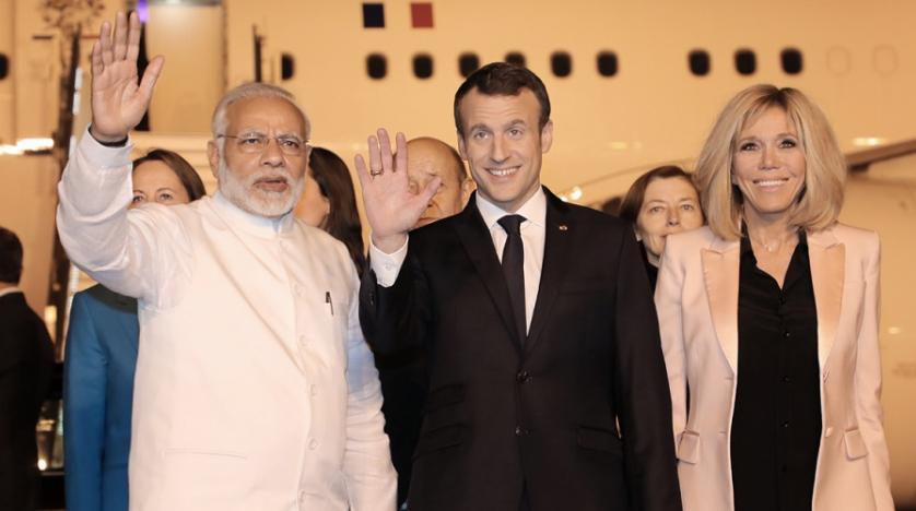 French President to arrive in India today