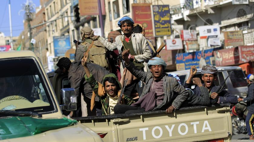 Yemen's Houthi rebels fire missile at Riyadh