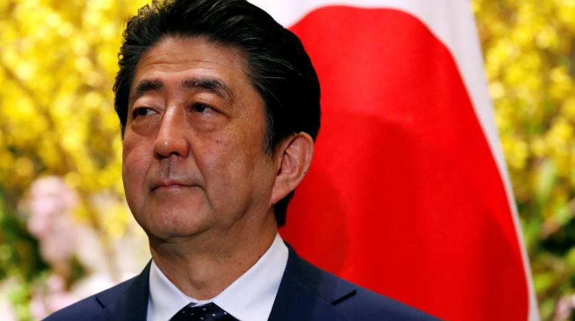 Prime Minister of Japan is flying to reconcile Israel and the Palestinians