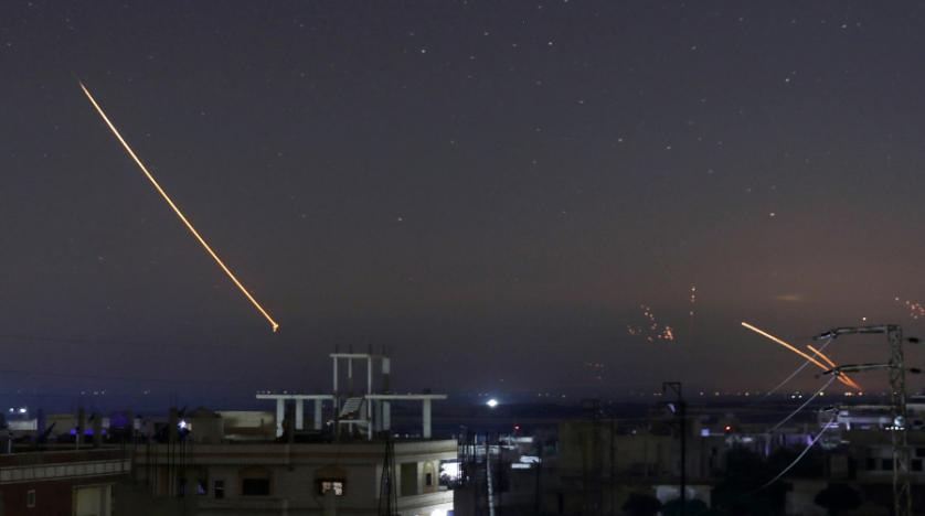 Missile-Mounted Camera Shows Israeli Strike on Syrian Interceptor System