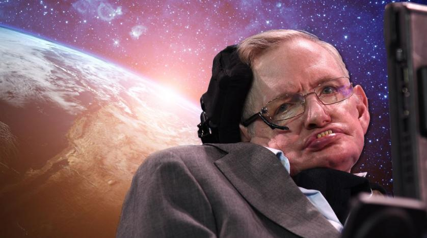 The funeral of Stephen Hawking invited time travelers