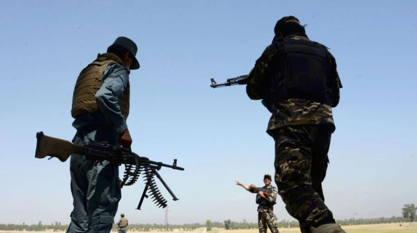 Gun battle between security forces & militants in Afghanistan