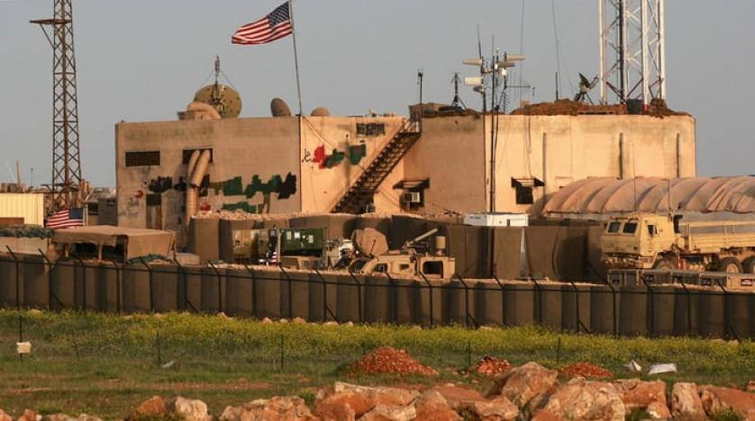 A US military base in al-Asaliyah Syria. AFP