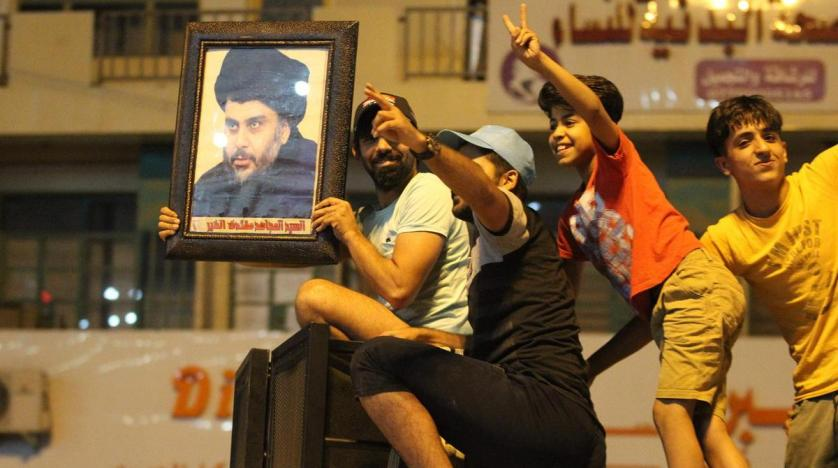 Al-Sadr refused to form a coalition with supporters of Iran
