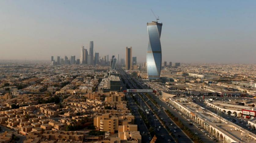 A general view of the Saudi capital Riyadh