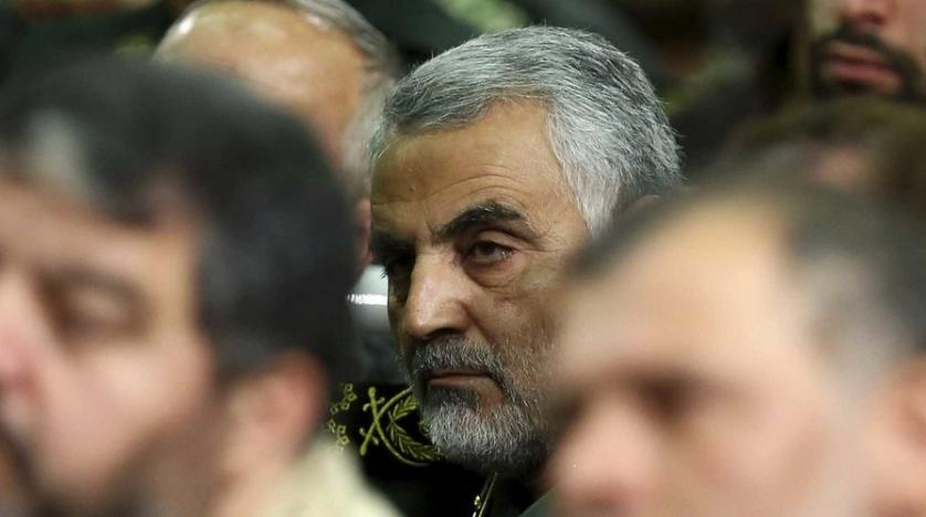 Iranian Revolutionary Guards Quds Force commander General Qassem Soleimani