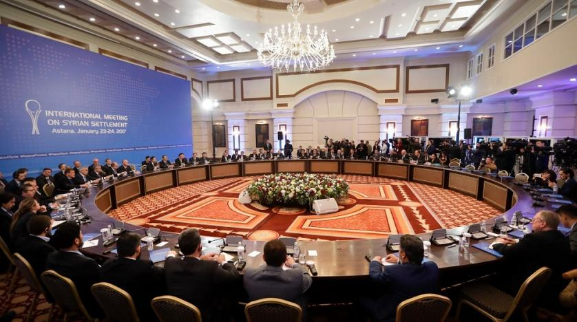 The ninth round of the Astana peace talks ended on Tuesday