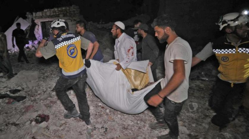 Suspected Russian airstrikes kill 44 civilians in Syria