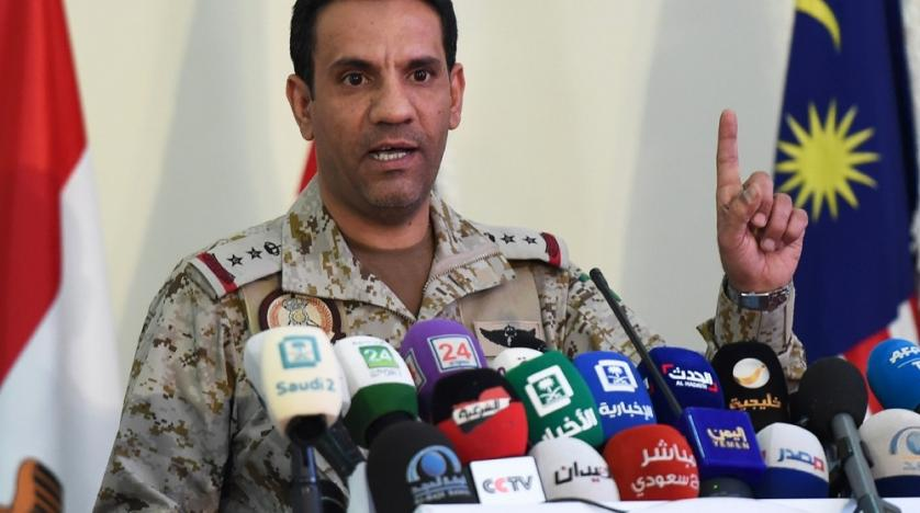 Arab coalition spokesman Colonel Turki al-Maliki