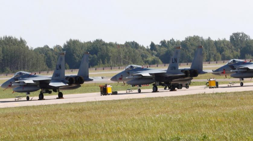 Air Force base grounds F-15s after crash in Japan