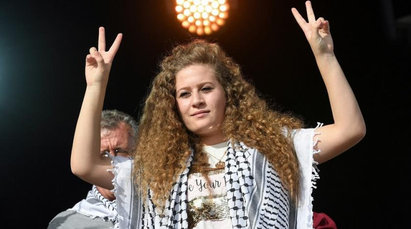 Palestinian Protest Icon Goes from Jail Cell to VIP Suite | Asharq