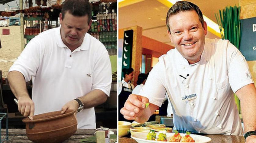 Gary Mahigan is one of the rulers of «Master Chef» in the Australian version of hospitality India 1
