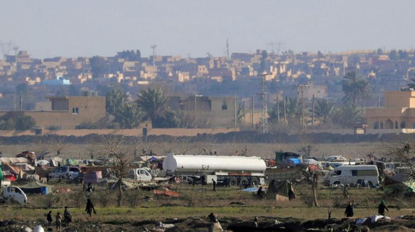 Last civilians to leave site of Islamic State's final stand in Syria