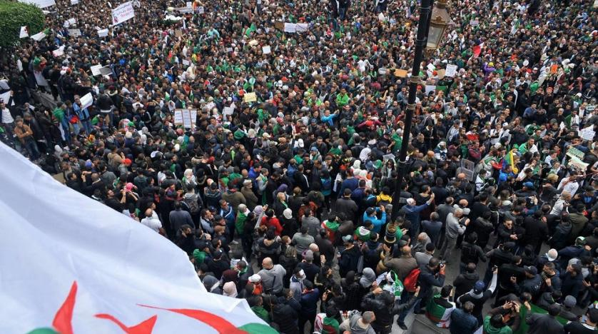 Algerians rally against ailing president as opposition activist arrested in Switzerland