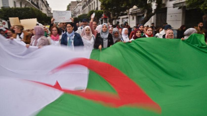 Hundreds of Algerian Lawyers Protest Against Bouteflika