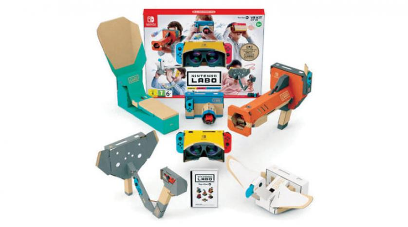 the new lapu group from nintendo introduces children to virtual reality
