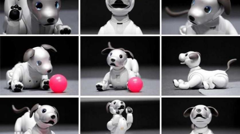 Robotic Dog' to be Best Friend of People with Dementia | Asharq AL-awsat