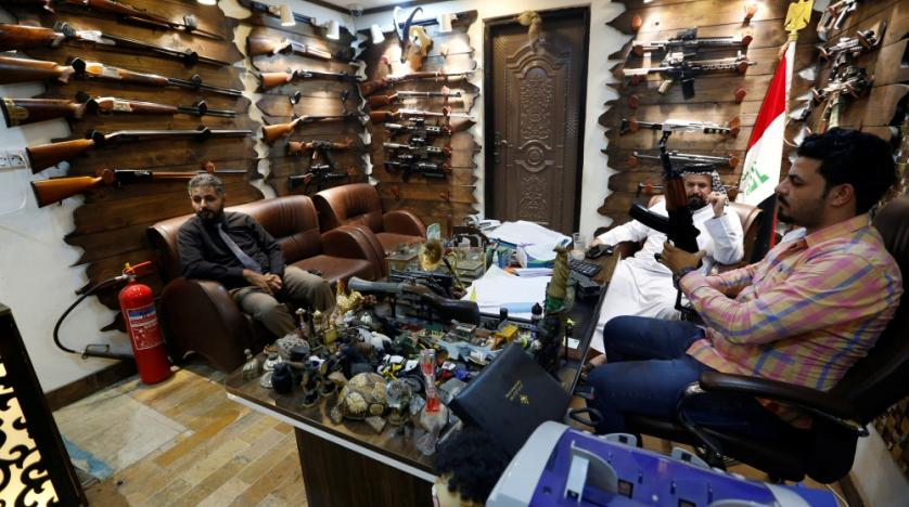 Iraq Gun Shops Thrive amid Call for Arms Control | Asharq AL