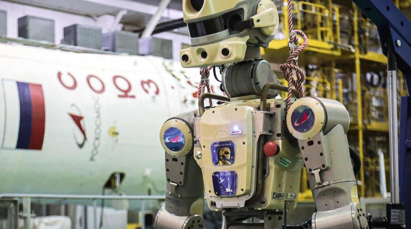 Russian spacecraft carrying humandoid robot docks to the ISS after failed attempt