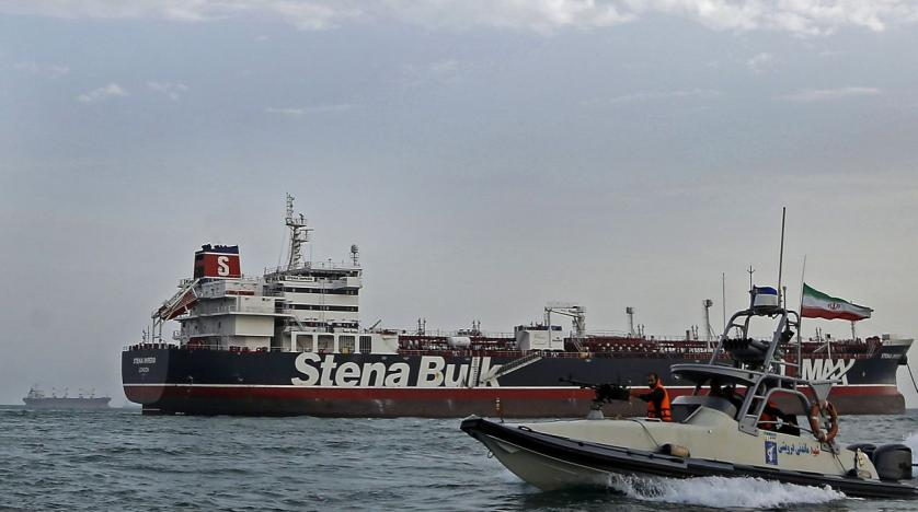 Seized British oil tanker leaves Iranian port