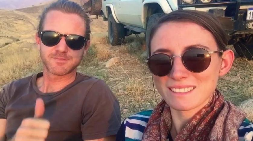 Australian travel-blogging couple held in Iran released: Canberra