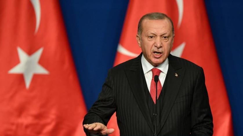 Erdogan: I will tell Trump that Washington has not fulfilled its promise in Syria AFP_1M60HI