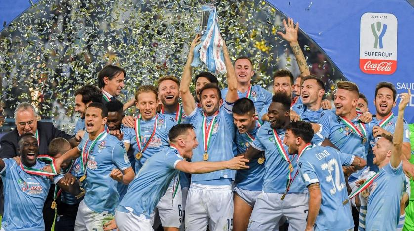 Lazio stun Juve to bag Italian Super Cup
