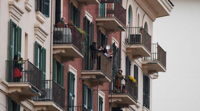 Image result for singing from balconies in italy