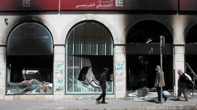 81 soldiers injured in clashes with protesters in Lebanon