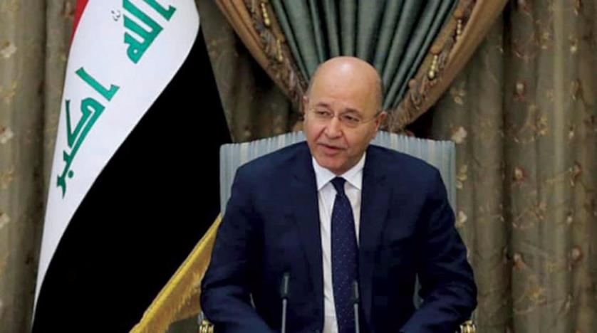 The Iraqi President acknowledges the failure of the system of government since 2003 1609425144447958300