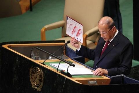 Lebanon: Aoun Backing Hezbollah Arms Upsets March 14 Forces
