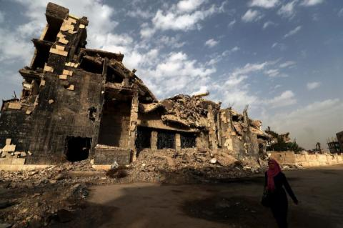 Retaken but Not Rebuilt: Syria's Raqqa a Year after ISIS Ouster
