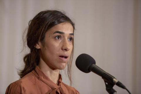Iraq Welcomes Nobel Peace Prize Winner Nadia Murad